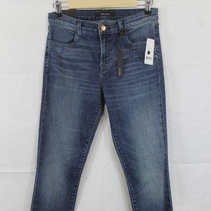 J Brand Super Skinny Mid Rise Jeans Size 29 NEW